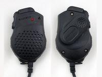 baofeng uv 82 telsiz toptan satış-Toptan-2 adet Orijinal El Walkie Talkie Hoparlör Baofeng Taşınabilir CB Radyo için Mic Çift PTT UV-82 UV-82L UV-8 UV-8D UV-89