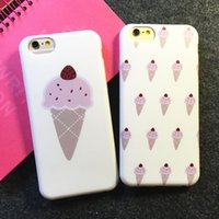 Wholesale apple phone celular for sale – best 2015 The Newest Korea Strawberry ice cream design celular Fundas Capa Para coque phone cases For iphone6 inch plus inch