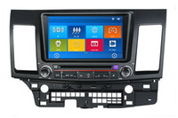 "Wholesale Lancer Dash Gps - HD 2 din 8"" Car Radio Car DVD Player for Mitsubishi LANCER With GPS Navigation Bluetooth IPOD TV SWC USB AUX IN"