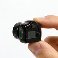 Wholesale Mini Color Cams - Y2000 Spy Camera The Smallest camera Spy Mini camera Camcorders Cam Black Color
