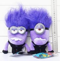 Wholesale Evil Minions - Despicable ME 2 Minions Purple Evil Plush Doll Toy 8inch20cm