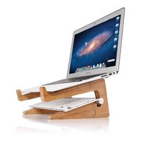 Rack di raffreddamento per laptop in legno Seenda, supporto verticale per laptop, supporto per laptop, base verticale per radiatore, desktop Macbook Apple elevato