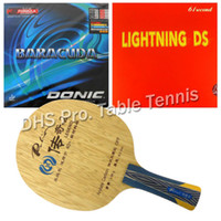 Wholesale Combo Table - Wholesale- Pro Table Tennis Combo Paddle Racket Palio Legend-2 with 61second Lightning DS and Donic BARACUDA 12080 shakehand Long Handle FL