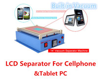 "Wholesale Lcd Built Pc - TBK 968 Latest 14"" LCD Screen Separator Built-in Vacuum Repair Machine for 14 inch or below Cell Phone & Tablet PC DHL Free Shipping"