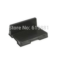 Wholesale quot L quot Shape ESD Tray slot Anti static Component Box for PCB SMT IC LCD screen Holder Storage rack