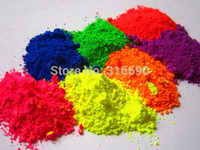 Wholesale Candles Making - Fine Powdered Color BLue,Green,Red,Pink,Yellow,Orange and Purple NEON Pigment Nail Polish Making Soapmaking Candles Non-Cosmetic