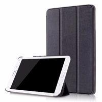 tablette samsung schlank großhandel-Neuer Stand PU-Lederfall-Tablette-Auto-Schlaf / Aufwachen für Samsung-Galaxie-Vorsprung A A6 7.0 '' 7.0 T280 T285DY ultra dünner Flip-Cover + Stift