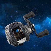 Hot Sell Right o Left Baitcasting Reel 12 + 1BBs 6.3: 1 Bait casting Bobina di pesca Magnetico e Centrifuga Dual Brake