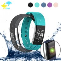 Wholesale Style Rates - F1 Smartband Smart Wristbands Sport Band Bracelet fitness tracker Calls Reminder Heart Rate Monitor IP67 Waterproof For FITBIT Alta Style