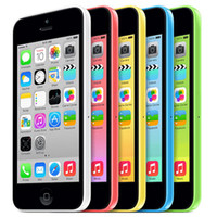 Wholesale Iphone 5c White Front - Refurbished Apple iPhone 5C Dual Core 4.0Inch 1080P Screen 1G RAM 32G ROM IOS 7.0 GSM Factory Unlocked Cell Phone