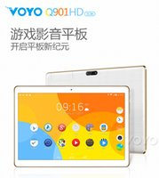 Gros-Voyo pad Q901HD Android 4.4 IPS Quad Core Double caméra HDMI Bluetooth4 WIFI OTG BT Keyboard Tablet PC