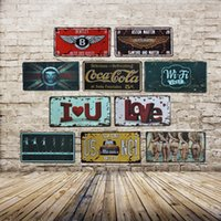 Wholesale Metal Wall Art Oil Painting - Champion Shell Motor Oil Garage Route 66 Retro Vintage TIN SIGN Old Wall Metal Painting ART Bar, Man Cave, Pub, restaurant home Decoration
