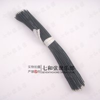 Wholesale Electricity Wires - Black 19MM length electric guitar inner circuit line connecting cables electric bass circuit system connection electricity wires