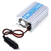 Atacado- 200W DC 12V para AC 220V Car Power Inverter com porta de carga USB com display LED Mostra DC e AC Tensão Alumínio Alloy Case