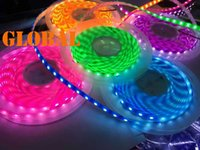 5M 5050 SMD Neon Light Strip LED roxo / rosa / verde / amarelo / azul impermeável IP65 flexível 300 Leds Cor Fluorescente DC 12V 2015 New Arrival