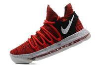 Wholesale Usa University - New Zoom KD 10 Anniversary University Red Kd Igloo BETRUE Oreo Men Basketball Shoes USA Kevin Durant Elite KD10 Sport Sneakers KDX