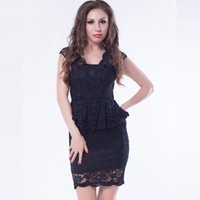 2017 mode dress langarm business sexy embroide kleider frauen kleidung abendkleider aushöhlen outsheer robe sexy engen dress spitzenrock