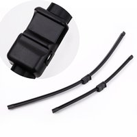 "Wholesale Car Accessories Focus - 2PCS 26""+17"" Car Accessories Windshield Wiper Blade Rubber Strip Bracketless Soft Rubber Arm Blade for Ford Focus MK2 2004-2010 K2579"