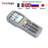 Al por mayor-Techlogic X5 Wireless Barcode Scanner código de barras Handheld Terminal PDA Laser Barcode Gun Warehouse Inventario Barcode Reader