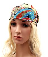 Wholesale colorful hair colors - Lady Bohemian colorful Hair band women fashion make up wash the face Hair Accessories colors for choose chiffon Headband