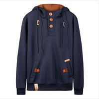 Wholesale Men Hoodi - Wholesale-Tracksuits ! Brand hood men hoodies fleece warm pullovers sweatshirts mens hoodi jacket hip hop sportwear fleece tracksuit#26