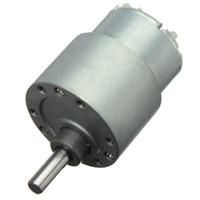 ingrosso motori ad ingranaggi ad alta coppia-Certificazione CE Mini 12V DC 70 RPM High Torque Gear Box controllo di velocità del motore elettrico a basso rumore spedizione gratuita