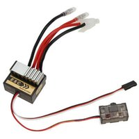 Wholesale Electric Rc Trucks Boats - 320A Brushed Speed Controller ESC for RC Car Truck Boat 1 8 1 10