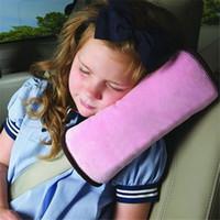 ingrosso cuscino del sonno laterale del bambino-All'ingrosso-Nessuno Logo Sedile posteriore Protector Baby Side Sleeper Cuscino di sicurezza Proteggi Spallina Cintura Cuscino cintura Proteggi collo LA878183