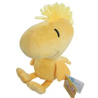 Wholesale Peanuts Doll - 9inch Peanuts Comics Charlie Brown Little Cute Woodstock Plush Stuffed Doll