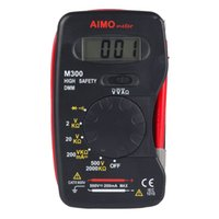 Wholesale Pocket Dmm - Aimometer M300 Pocket Size Digital multimeter Handheld DMM DC AC Ammeter Voltmeter Ohm Meter with Diode and Continuity Test