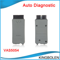 Wholesale Skoda Diagnostic Vas - 2017 Newest Version VAS 5054A V19 for Audi VW Seat Skoda VAS5054 Diagnostic Scanner With Bluetooth DHL Free Shipping