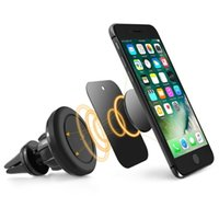 Universal Air Vent Car Holder Phone Magnetic Car Mount 360 Degree Holder ajustable del teléfono celular para iPhone