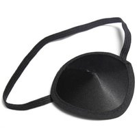 Wholesale New Adults Halloween Pirate Eyepatch Black Costume Accessory Single Eye Patch