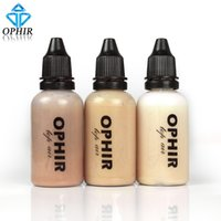 Großhandel-OPHIR Professional Spray Air Make-up-Stiftung für Airbrush Kit-1oz / Flasche Airbrush Gesicht Make-up Concealer Foundation _TA104