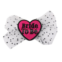 Wholesale Hen Party Hair Accessories - Wholesale- Bride to Be Hair Bow Head Wear Hen Party Accessories