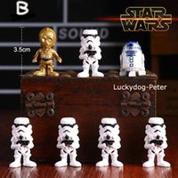 Wholesale 2016 anime Star Wars set toys marvel action figures toy Starwars Star Wars Master Yoda boys toys with color paper box E125J