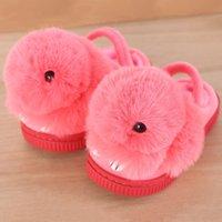 Wholesale Unisex Bedroom Slippers - Kids Girls Slippers Boys Household Cotton Shoes Cartoon Comfortable Home Floor Shoes Bedroom Baby Indoor Slippers Children Shoes VX0160