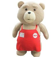ingrosso bambole di grandi dimensioni orso-Big Size 46 cm Original Teddy Bear Peluche ripiene Ted 2 Peluche Morbido Baby Baby regalo di compleanno per bambini