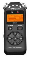 ingrosso prezzi dei registratori vocali-Prezzo promozionale Tascam dr-05 Palmare portatile portatile Digital Voice Recorder MP3 Recording Pen magazzino stock spedizione gratuita