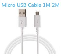 Wholesale Smartphones S3 - Micro Data USB Cable Sync Charging Charger Cables for Samsung Galaxy S2 S3 S4 S6 Edge Sony 5 6 LG HTC Nokia Smartphones