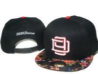 Wholesale Cheap Snapbacks Flower Hats - Cheap black D9 Reserve flower brim Snapback Snapbacks fashion hip hop hats caps snap back cap baseball caps hats online hot selling DDM