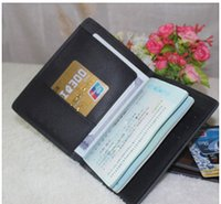 Wholesale New Style Travel Card Holder Wallet Multifunctional ID storage JAMES passport cover holder travel purse