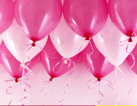 High Quality Free shipping 200pcs lot Latex Helium Inflable Thickening Pearl Wedding Party and 1st Birthday Balloon