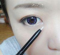 Wholesale Head Off Magic - Wholesale-45% OFF! New Magic Cosmetics Glitter Makeup Sponge-headed Automatic Waterproof Eyeshadow Pencil Pen Eye Liner Eyeliner Pencil