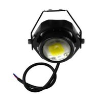 Wholesale Drl Fog Round - 1 pcs IP67 Waterproof Ultra Bright 1000LM 10W CREE DRL LED Eagle Eye Car Fog Daytime Running Reverse Backup Parking Light Lamp