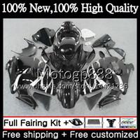 Wholesale Hayabusa Black Orange - Body For SUZUKI Hayabusa GSXR 1300 02 03 04 05 06 07 41G878 Stock black GSX R1300 GSXR-1300 GSXR1300 96 97 98 99 00 01 Motorcycle Fairing