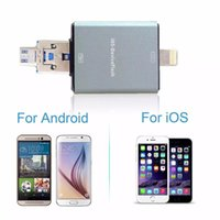 OTG USB3.0 Flash Drive Pendrive 8GB-16GB-32GB-64GB OTG Speicher U Sticks i Flash Laufwerk für iPhone 6s 6 5 Andriod PC