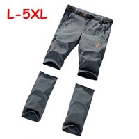 Wholesale Fast Drying Pants - 2015 New!plus size wolf skin Outdoor Fast Dry men's Quick Dry Pants camping & hiking fishing Pants sport trousers casual pants free shipping