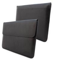 "Wholesale Macbook 13 Case Fashion - Wholesale-Fashion Leather Sleeve Case Bag Pouch Cover For 13"" MacBook Air & Pro Retina laptop Lifetime Guarantee"