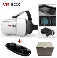 Carton VR BOX Version Virtual Reality Glasses + Smart Bluetooth Wireless Mouse / Remote Control Gamepad avec paquet